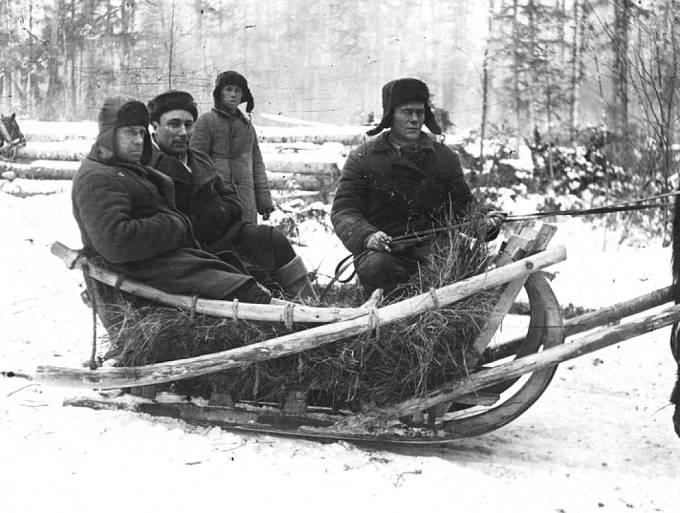 Vězni v gulagu při práci