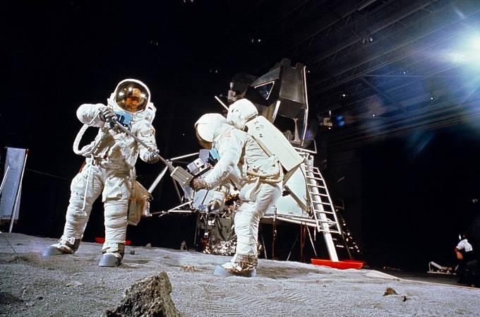 Simulace přistání na Měsíci, tři roky před odletem Apolla 11