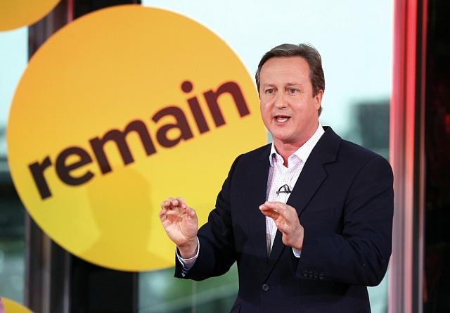 David Cameron, současný britský premiér, vyzývá občany, aby hlasovali proti vystoupení.