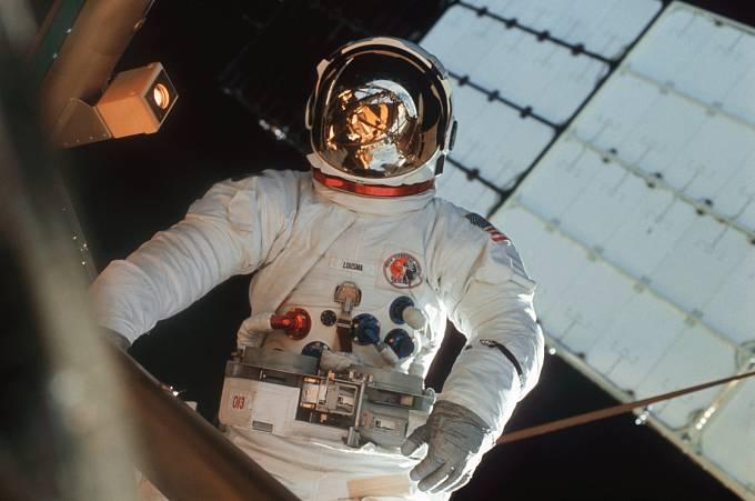 Astronaut Jack R. Lousma z druhé posádky