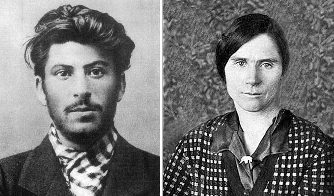 Josif Stalin a Lidia Perepryginova
