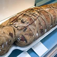 Egyptská mumie - ilustrační foto