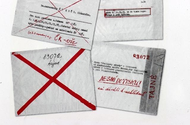 Dopisy bývaly cenzurovány