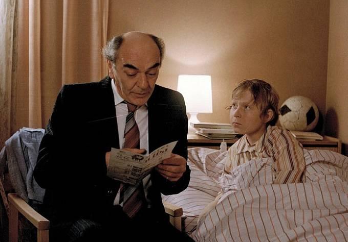 Josef Bláha a Viktor Král v seriálu Návštěvníci