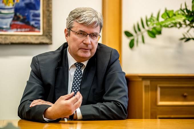 Předseda České unie sportu Miroslav Jansta.