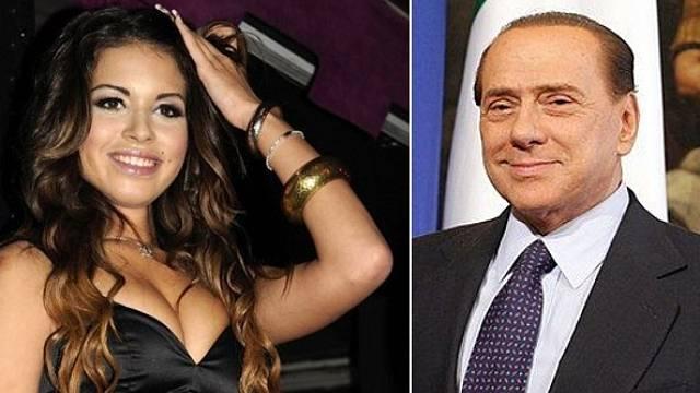 Tanečnice Ruby a Silvio Berlusconi