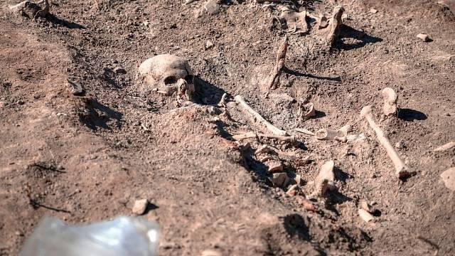 Archeologické naleziště - ilustrační foto