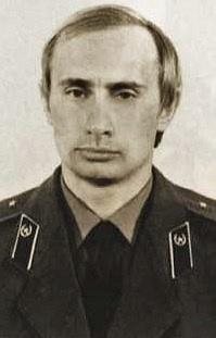 Putin vuniformě KGB, okolo roku 1980