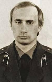 Putin v uniformě KGB, okolo roku 1980