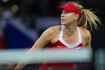 Ruská tenisová šampionka Maria Šarapovová