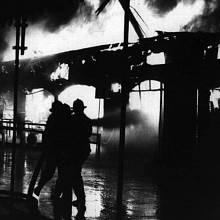 Požár byl zjištěn kolem čtvrt na jedenáct večer