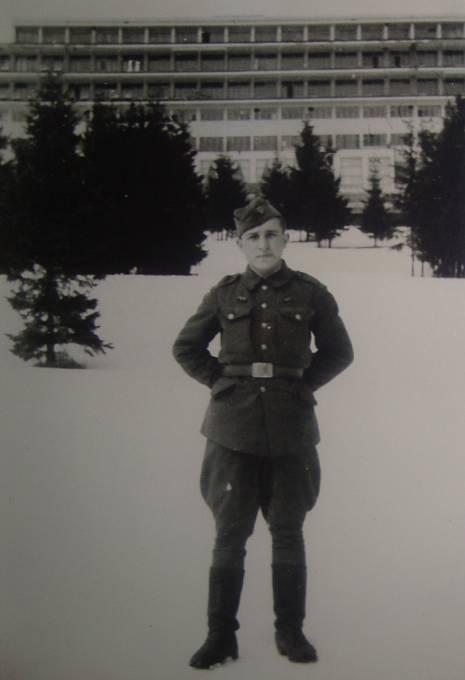Michal Demjan v lednu roku 1945