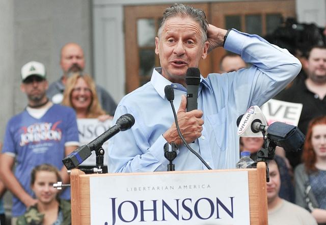 Libertarián Gary Johnson. Černý kůň letošních voleb?