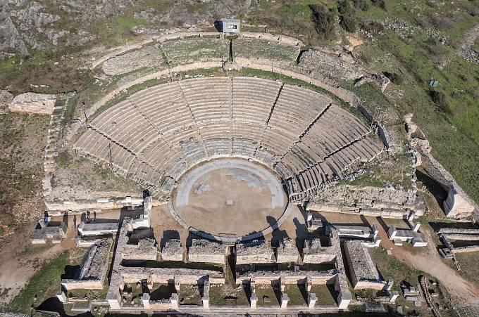"""Řeckému městu Filippi se dříve přezdívalo """"malý Řím"""". Bylo založeno ve 4. století př. n. l. a obsahuje mimo jiné doklady o rané fázi křesťanství."""