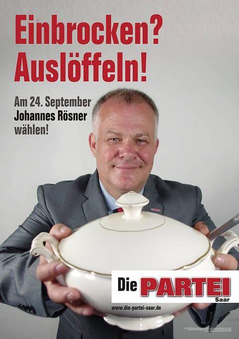 """Kampaň německé strany """"Die Partei"""""""