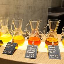 Bar s ledovým čajem Teavana