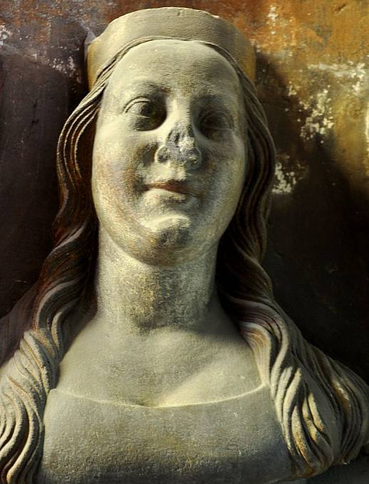Druhá manželka Karla IV. Anna Falcká