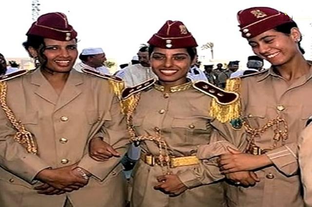 Ženská garda Muammara Kaddáfího