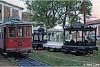Malé pohřební vagonky tramvaje v Paraguayi