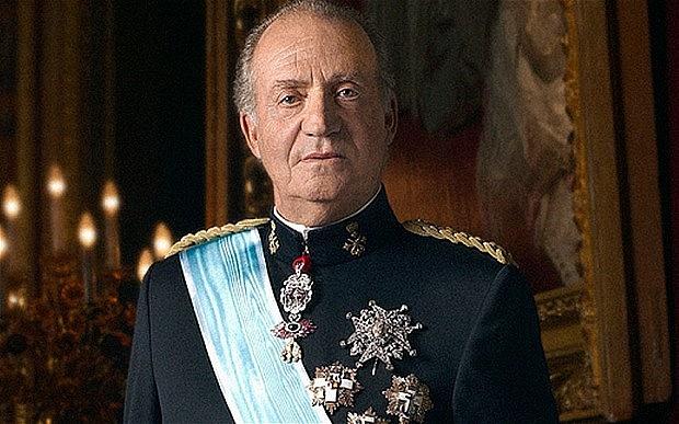 První král obnovené španělské monarchie Juan Carlos I.