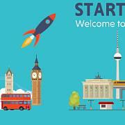 Berlín, top destinace evropských startupů.