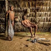 Na návštěvě u spřátelené části kmene