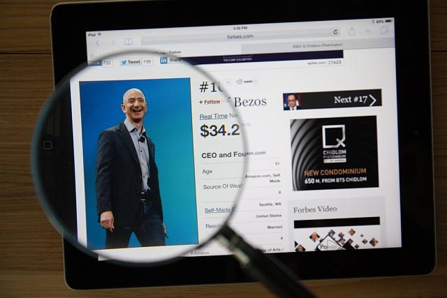 Zakladatel Amazon.com Jeff Bezos se stal třetím nejbohatším mužem světa