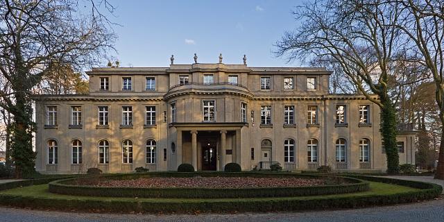 Zámek ve Wannsee, místo, kde se 20.února 1942rozhodlo otragickém osudu evropských Židů