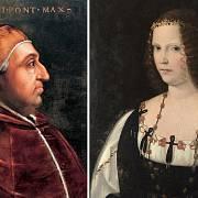 Papež Alexandr VI. a jeho dcera Lucrezia Borgia