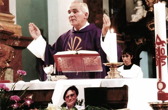 František Lízna, mše 2005
