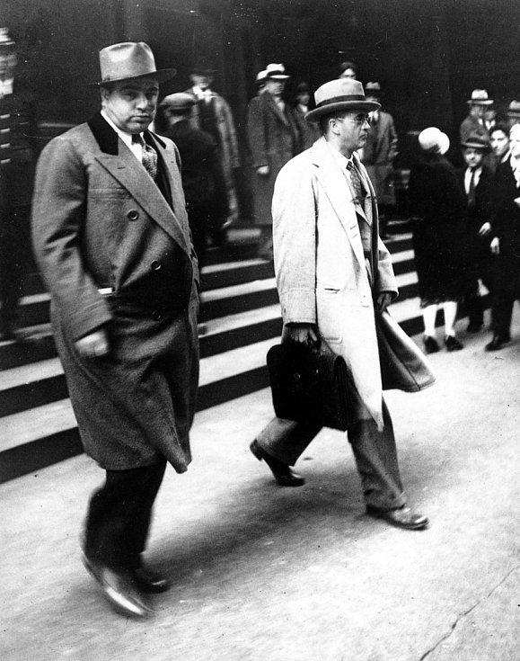 Al Capone si vždy potrpěl na perfektní vizáž