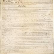 První list Ústavy.