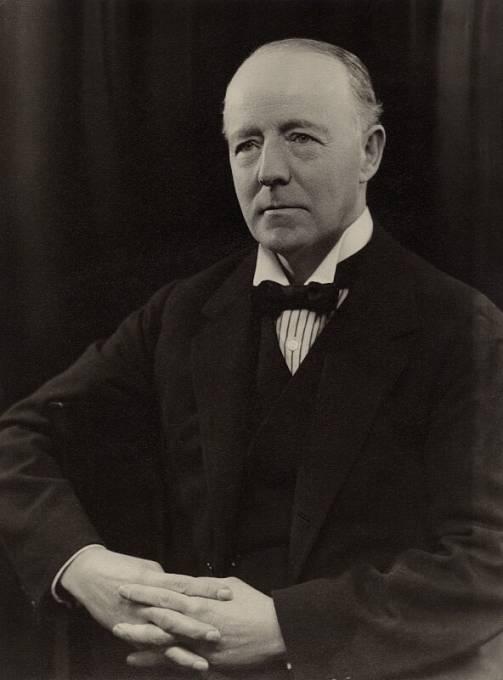 Britský lord Walter Runciman výrazně stranil sudetským Němcům