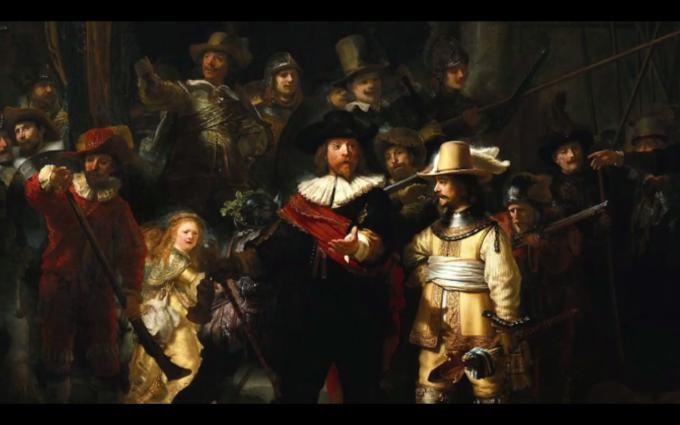 Rembrandt van Rijn: Noční hlídka, 1642