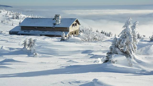 Vrbatova bouda v Krkonoších