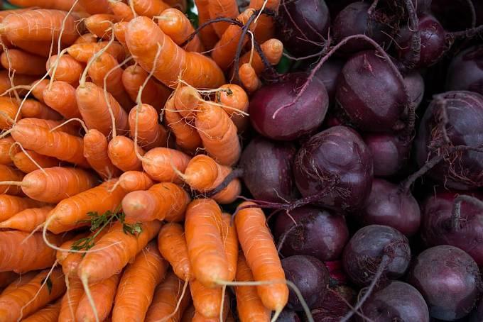 Na tržišti v Hobartu