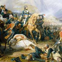 Napoleon v bitvě o Rivoli