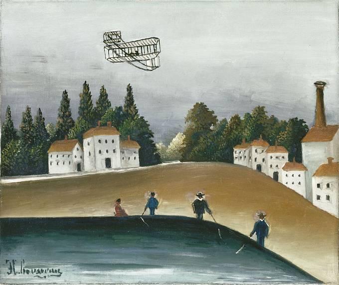 Henri Rousseau, Rybáři, 1908–1909, olej na plátně, Paris, Musée de l'Orangerie, © RMN-Grand Palais (Musée de l'Orangerie) / Hervé Lewandowski