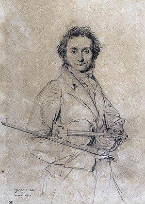 Paganini, ještě když byl relativně zdráv