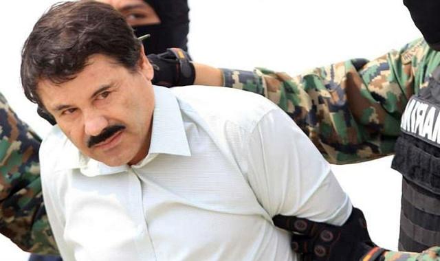 Mexický narkobaron Joaquín Guzmán Loera, zvaný Prcek