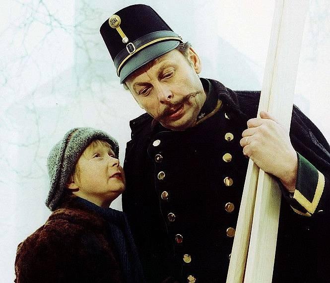 Viktor Král a Jiří Prýmek ve filmu Krakonoš a lyžníci