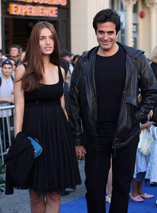 David Copperfield s přítelkyní Chloe Gosselin