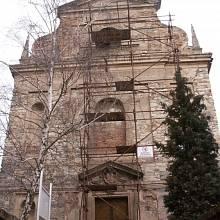 Kostel Nejsvětější Trojice v Zahořanech u Litoměřic