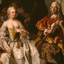 Marie Terezie s manželem