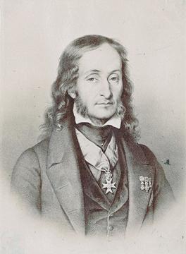 Portrét mladého Paganiniho