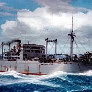 Takto japonská loď Awa Maru vypadala
