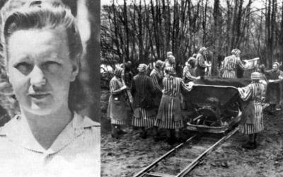 Dozorkyně Dorothea Binz ráda tyranizovala a zabíjela bezbranné vězenkyně.