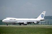 První let Boeingu 747 proběhl v barvách aerolinek Pan Am