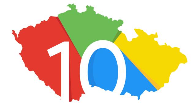 Google slaví 10 let existence v Česku.