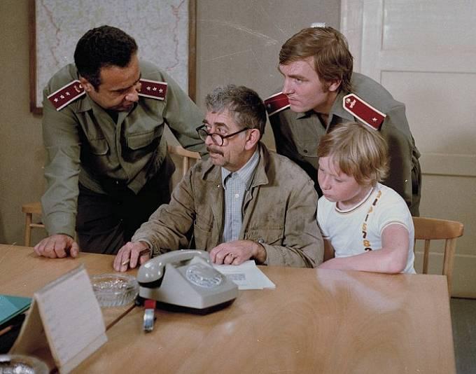 Vladimír Menšík, Vlastimil Brodský, Josef Šebek a Viktor Král